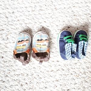 2Pairs of baby boy boots